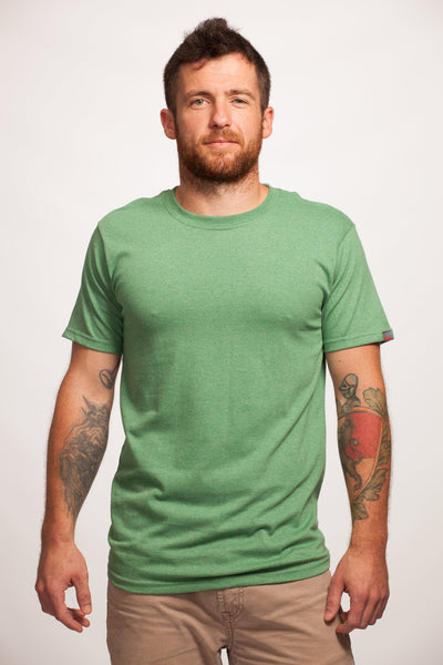 Green Short Sleeve Recycled T-Shirt
