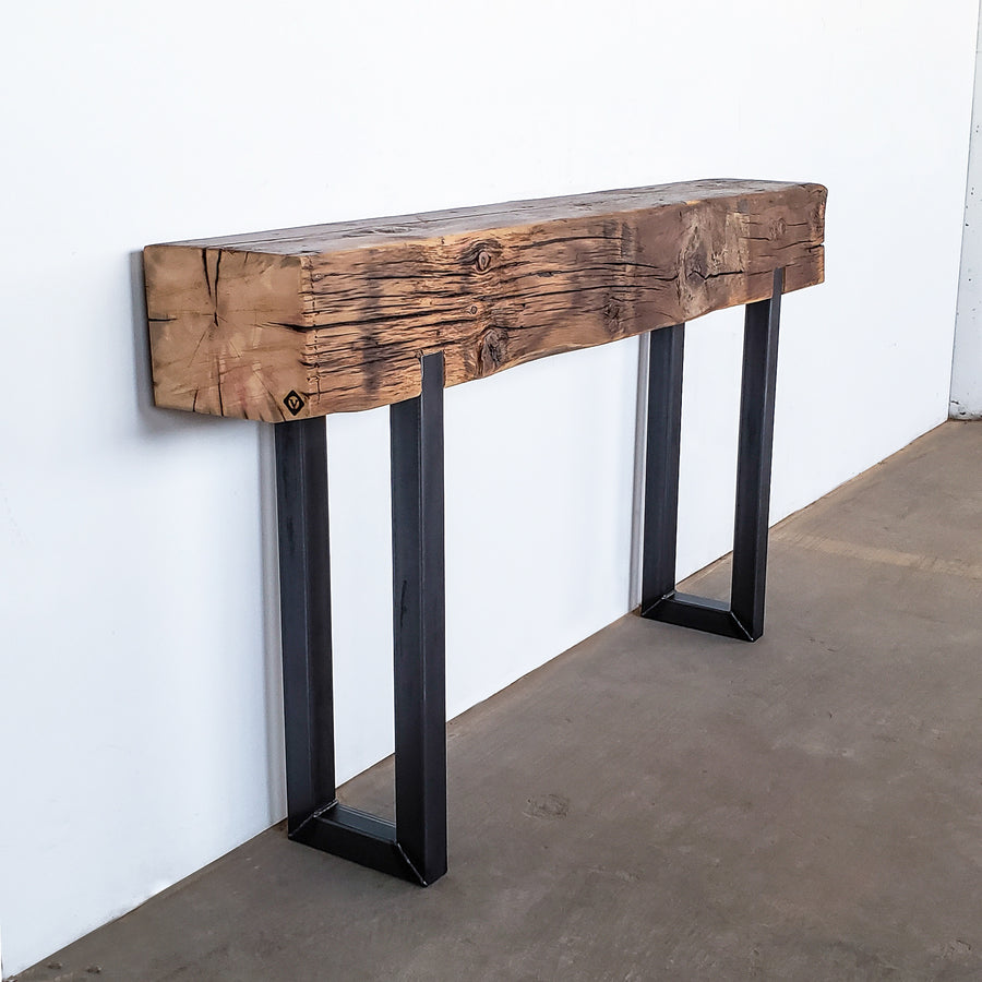 Foundational Beam Console Table