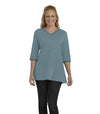 Begonia Eco-Friendly Top - Tide/Ash