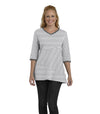 Begonia Eco-Friendly Top - White/Black