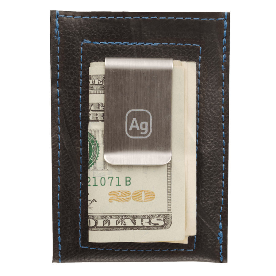 Bryant Upcycled Money Clip Wallet