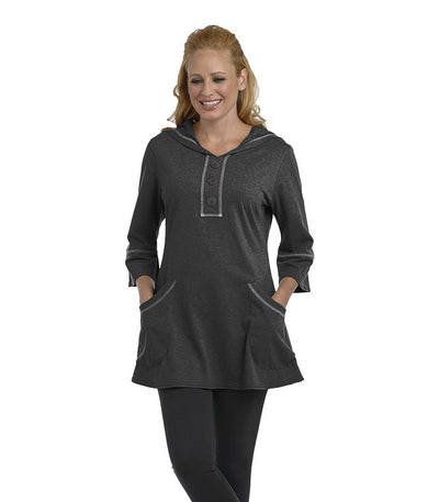 Buttercup Tunic Black Eco-Friendly Top
