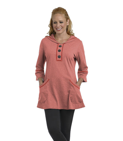 Buttercup Tunic Coral Eco-Friendly Top