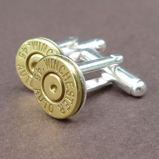 Bullet Casing Cuff Links