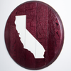 California Wine Barrel Wall Hanging