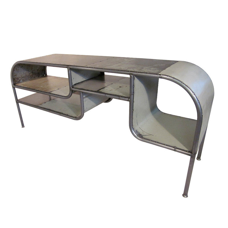 Capsule Reclaimed Metal Bureau Desk