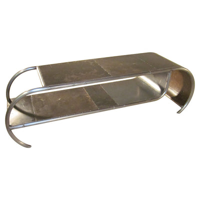 Capsule Reclaimed Metal Coffee Table