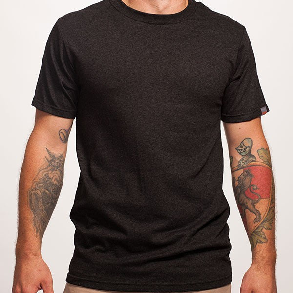Dark Grey Short Sleeve Recycled T-Shirt
