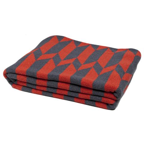 Eco Reversible Chevron Stripe Throw Blanket
