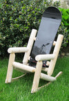 Children's Snowboard Log Rocking Chair