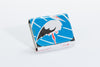Classic Reclaimed Rice Bag Wallet - Blue Stork