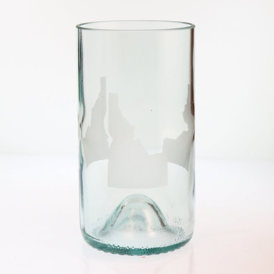 Clear Custom State Glass - Tall