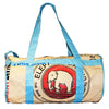 Elephant Branded Small Clipper Bag
