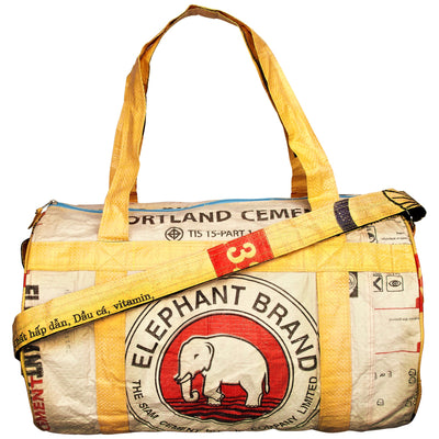 Elephant Branded Large Clipper Bag