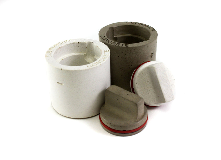 Concrete Salt + Pepper Shaker Set