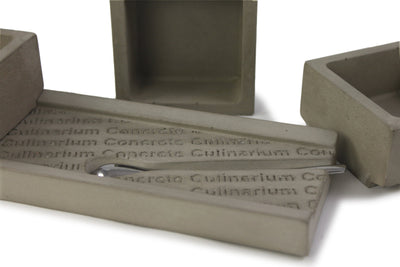 Culinarium Concrete Salt + Spice Holder