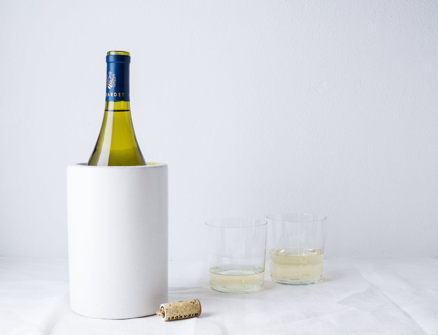 Concrete Utensil Holder or Wine Chiller