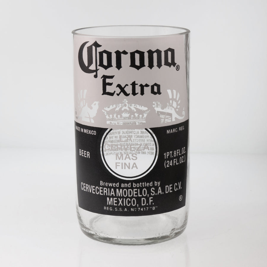 Corona Extra Beer Bottle Glass