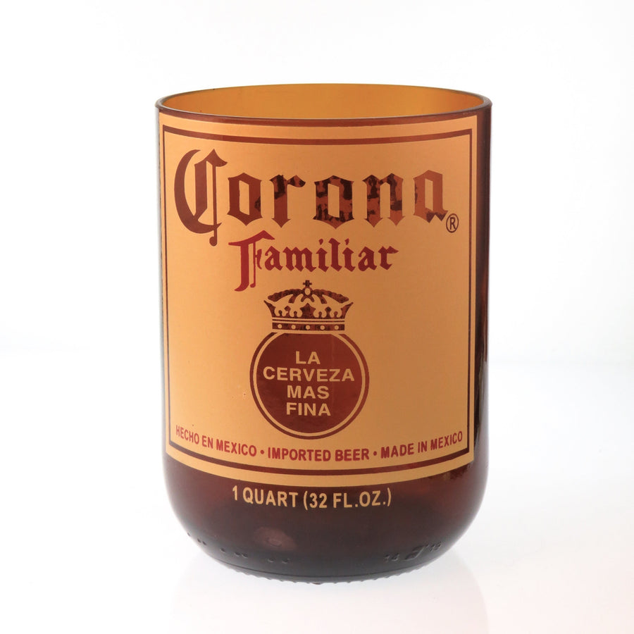 Corona Recycled Drinking Glass