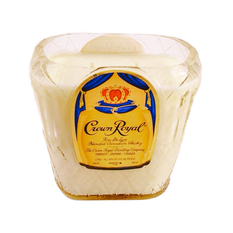 Crown Royal Bottle Candle