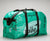 Large Feed Sack Duffle Bag in Pine Green