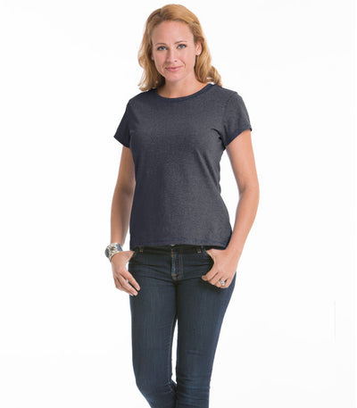 Women's Daisy Fitted Top - Black