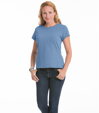 Women's Daisy Fitted Top - Chamblue