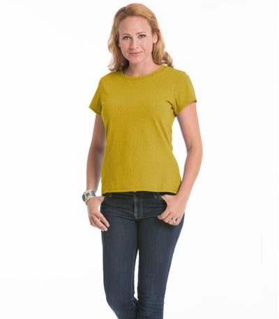 Women's Daisy Fitted Top - Maize