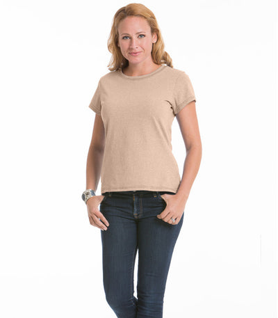 Women's Daisy Fitted Top - Sand