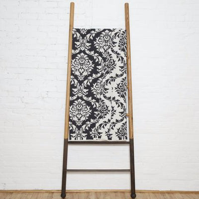 Eco Damask Reversible Throw Blanket
