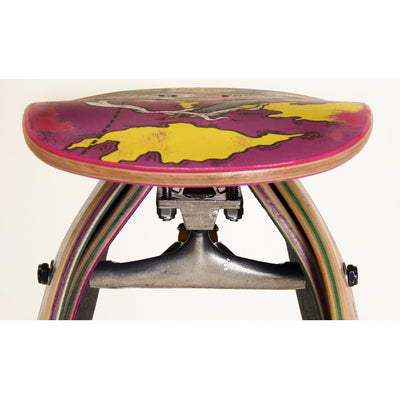 Recycled Skateboard Stool Truck Bracket