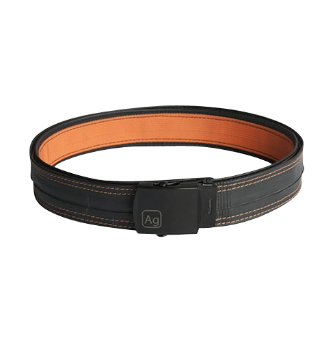 Delridge Orange Reversible Bike Tube Belt