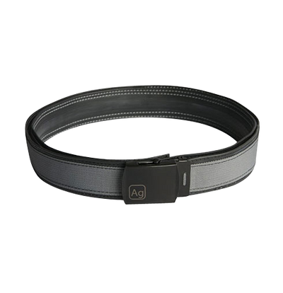 Delridge Silver Reversible Bike Tube Belt