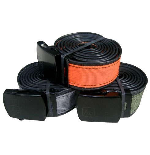 Delridge Brown Reversible Bike Tube Belt