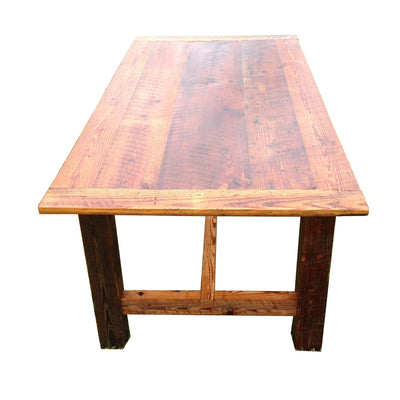 Handmade Reclaimed Wood Dining Room Table