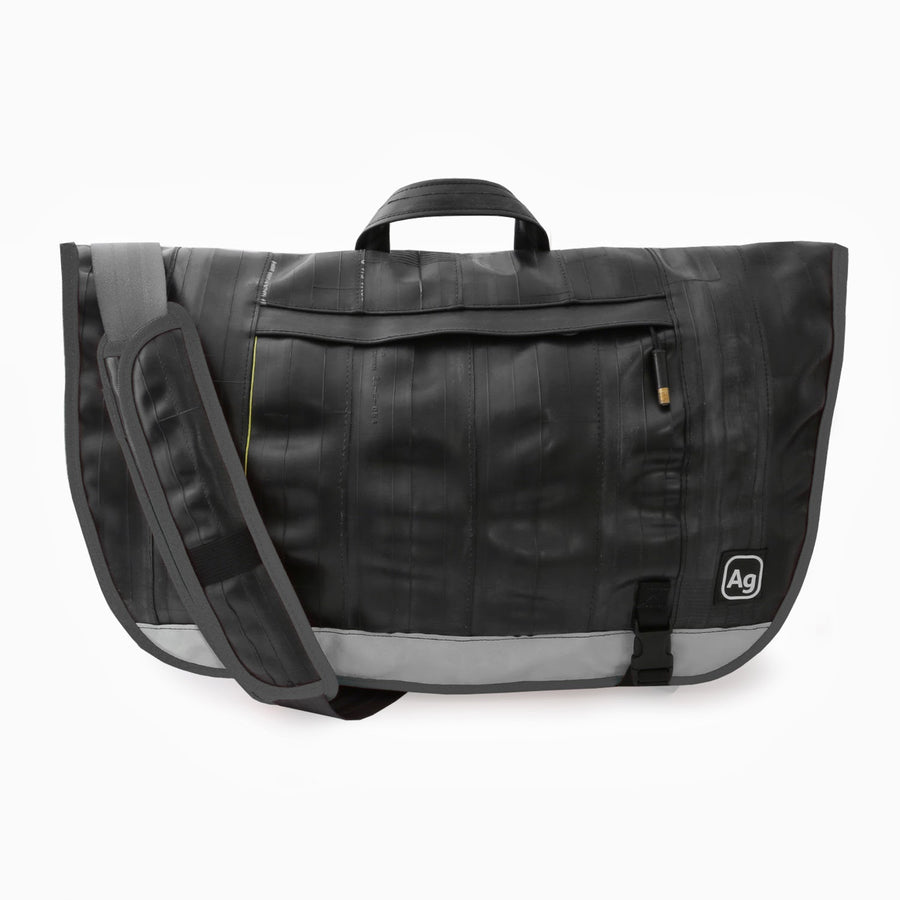 Dravus Bicycle Inner Tube Messenger Bag