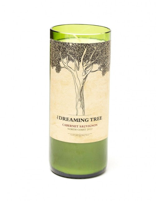 Dreaming Tree Wine Bottle Candle