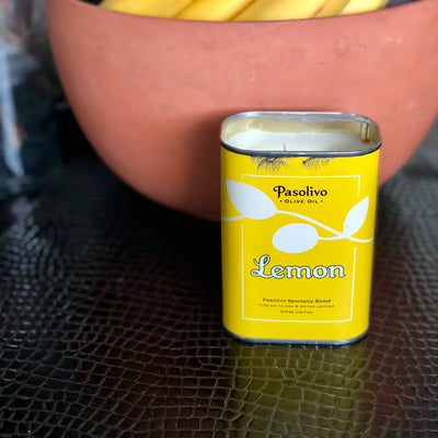 Pasolivo Olive Oil Can Candle