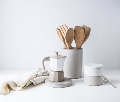 Eco-Friendly Concrete Kitchen Set