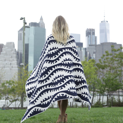 Eco Mirror Throw Blanket