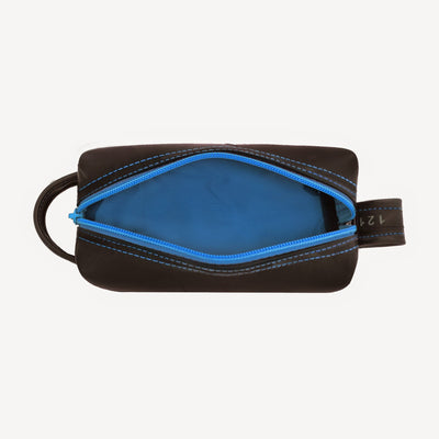 Mini Elliott Toiletry Kit - Blue Interior