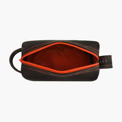 Mini Elliott Toiletry Kit - Orange Interior