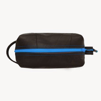 Elliott Toiletry Kit with Blue Trim