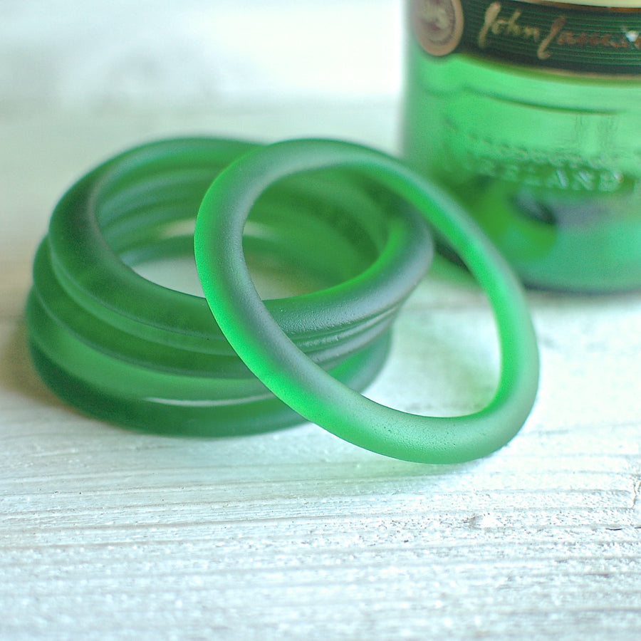 Jameson Matte Finish Glass Bottle Bangle