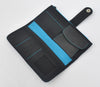 Long Recycled Rubber Wallet (Turquoise)