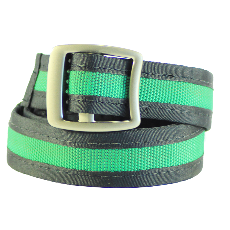 Reclaimed Fire Hose Green Belt