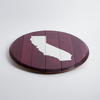 Hand Painted California Lazy Susan