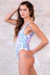 Harmonic Echo Reversible One Piece Swimsuit