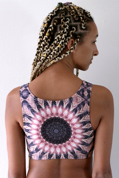 Heliocentric Crop Top
