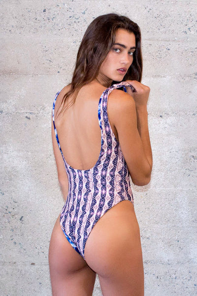 Heliocentric Dreamer Reversible One Piece Swimsuit